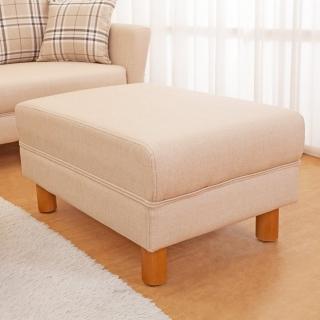 【Bernice】米洛克貓抓皮沙發椅凳/腳凳(二色可選)  Bernice