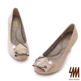 【SM】-情人對釦十字紋小圓頭中低細跟淑女鞋(小圓頭中低細跟淑女鞋)好評推薦  SM