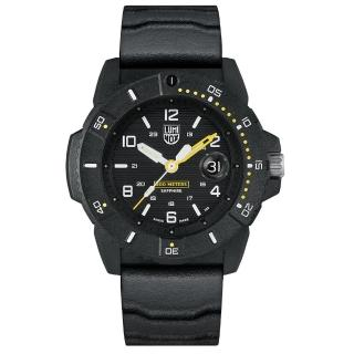 【LUMINOX 雷明時】NAVY SEAL 3600 海豹部隊腕錶(黑黃 / 45mm A3601)  LUMINOX 雷明時