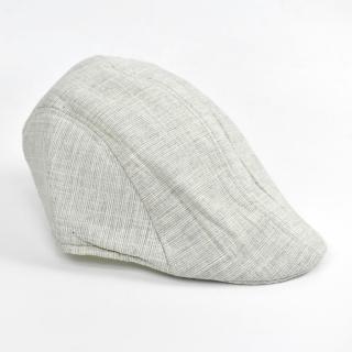 【玖飾時尚】鴨舌帽 紳士休閒淺色復古扁帽(帽子)好評推薦  玖飾時尚