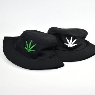 【玖飾時尚】漁夫帽 電鏽立體配色麻葉(帽子)好評推薦  玖飾時尚