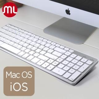 【morelife】1對4藍牙Mac超薄鍵盤(WKB-1700M)  morelife