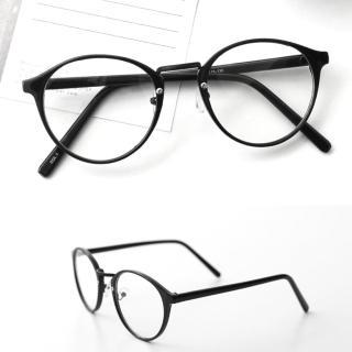 【玖飾時尚】韓系文青質感圓框鏡框(眼鏡)  玖飾時尚