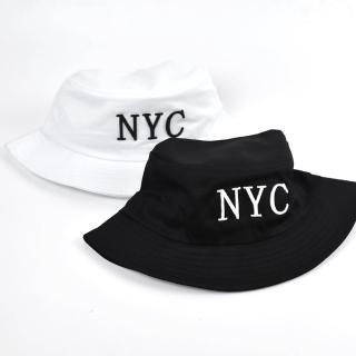 【玖飾時尚】漁夫帽 電鏽N.Y.C素色素面(帽子)  玖飾時尚