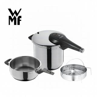 【WMF】PERFECT Premium 快力鍋二件套組 3.0/6.5L(壓力鍋)  WMF