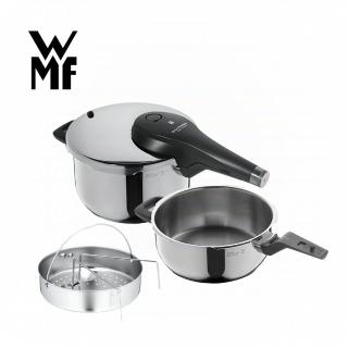 【WMF】PERFECT Premium 快力鍋二件套組 3.0/4.5L(壓力鍋)好評推薦  WMF