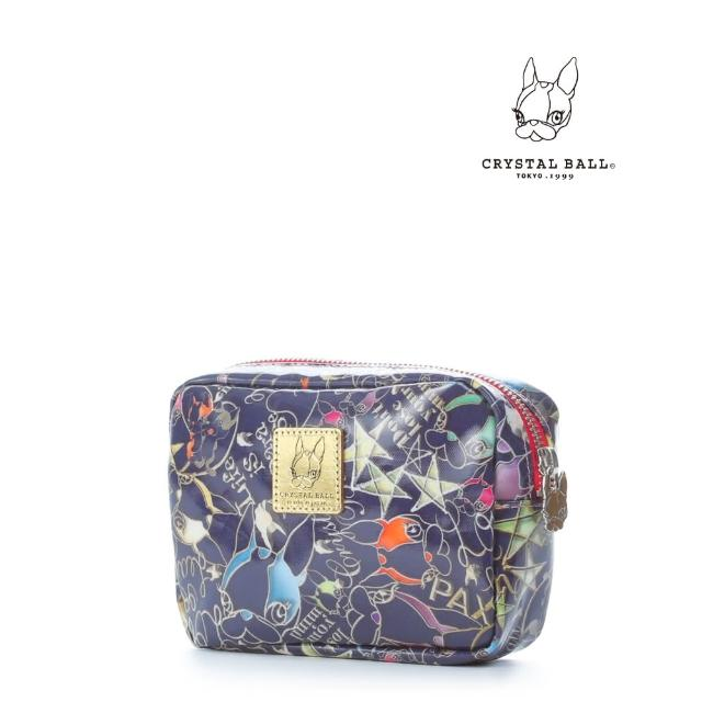 【CRYSTAL BALL】Frame Hippie化妝小物包