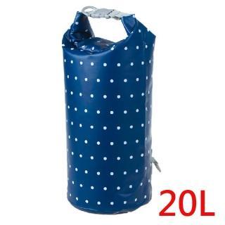 【E.City】20L手提單肩防水圓筒包-繽紛花色系列(可手提、肩背)  E.City