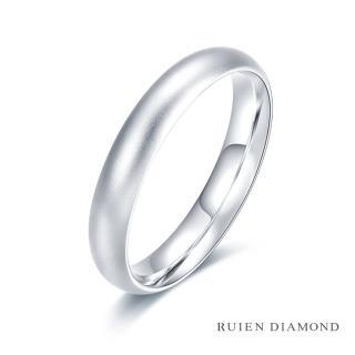 【RUIEN DIAMOND 瑞恩鑽石】情侶對戒 結婚對戒 戒圈(18K白金 女戒)品牌優惠  RUIEN DIAMOND 瑞恩鑽石