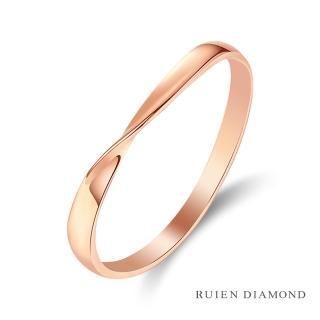 【RUIEN DIAMOND 瑞恩鑽石】情侶對戒 結婚對戒 戒圈(18K玫瑰金 女戒)  RUIEN DIAMOND 瑞恩鑽石