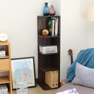 【EASY HOME】轉角四層收納置物櫃(雙色可選)  EASY HOME