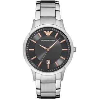 【EMPORIO ARMANI】亞曼尼紳士手錶-灰x銀/43mm(AR11179)好評推薦  EMPORIO ARMANI