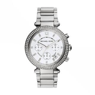 【Michael Kors】紐約時尚三眼計時腕錶(MK5353) 推薦  Michael Kors