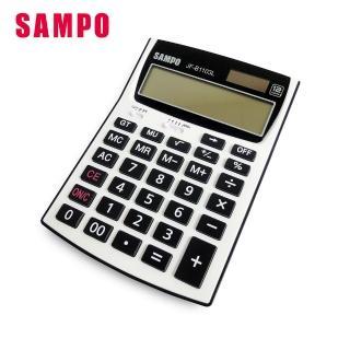 【SAMPO 聲寶】12位數桌上型商用計算機(JF-B1103L)優惠推薦  SAMPO 聲寶