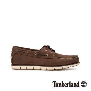 【Timberland】男款深棕色磨砂革帆船鞋(A26QS931)品牌優惠  Timberland