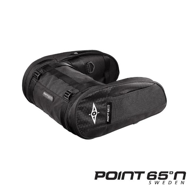 【POINT 65°N】25L LUMBAR CASSETTE 外掛式腰臀包(黑色)