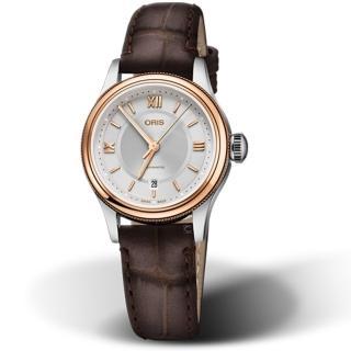 【ORIS 豪利時】CLASSIC不凡品味女錶(56177184371-0751432)折扣推薦  ORIS 豪利時