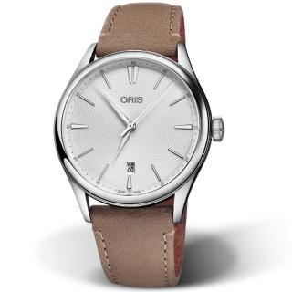 【ORIS 豪利時】ARTELIER日期手錶(73377214051-0752132FC)好評推薦  ORIS 豪利時