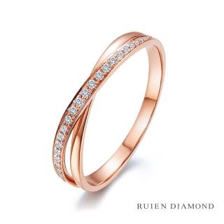 【RUIEN DIAMOND 瑞恩鑽石】輕珠寶系列 6分 鑽石戒指(18K金)  RUIEN DIAMOND 瑞恩鑽石