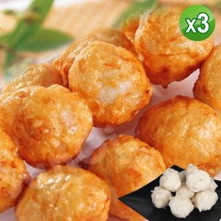 【老爸ㄟ廚房】鮮美花枝風味丸 3包組(250g±5%/10顆/包)  老爸ㄟ廚房
