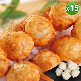 【老爸ㄟ廚房】鮮美花枝風味丸 15包組(250g±5%/10顆/包) 推薦  老爸ㄟ廚房