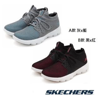 【SKECHERS】健走系列 曾之喬著用款 GO WALK EVOLUTION ULTRA(15726GYBL/15726BKHP)  SKECHERS