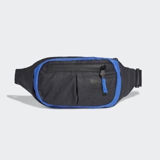 【adidas 愛迪達】DAILY WAIST BAG 黑藍 小腰包 斜背包 側背包(EC6486)  adidas 愛迪達