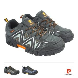 【pierre cardin 皮爾卡登】鋼頭透氣綁帶休閒鞋  pierre cardin 皮爾卡登
