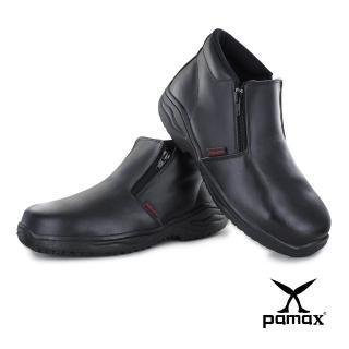 【PAMAX 帕瑪斯】中筒皮革製安全鞋、高抓地力大底、鋼頭鞋(PA20201FEH/黑/男)好評推薦  PAMAX 帕瑪斯
