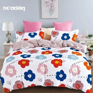 【BEDDING】-多款-活性印染-加大6尺雙人薄式床包枕套三件式好評推薦  BEDDING