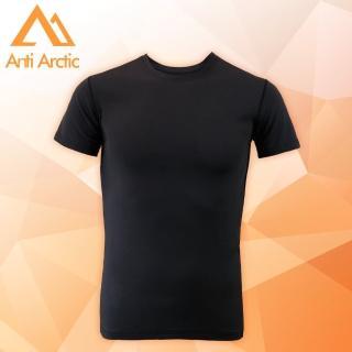 【Anti Arctic】3M-遠紅外線機能衣-男短袖-黑(遠紅外線機能衣)  Anti Arctic