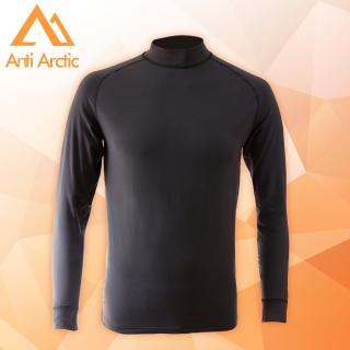 【Anti Arctic】3M-遠紅外線機能衣-男高領-黑(遠紅外線機能衣)  Anti Arctic