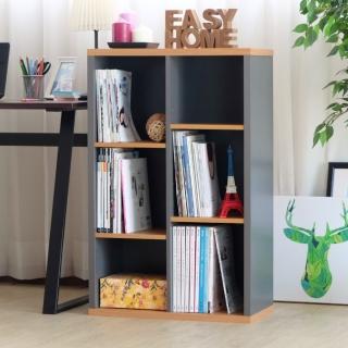【EASY HOME】加厚六格開放式收納書櫃  EASY HOME