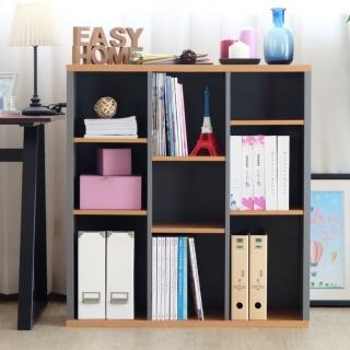 【EASY HOME】加厚九格開放式收納書櫃  EASY HOME