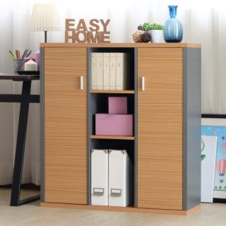 【EASY HOME】加厚九格雙門收納書櫃評價推薦  EASY HOME