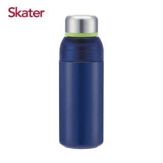 【Skater】濾網式不鏽鋼真空瓶400ml(茄子)  Skater