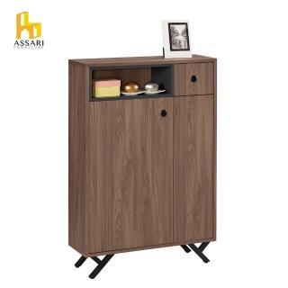 【ASSARI】約克2.7尺鞋櫃(寬81*深30*高120cm)優惠推薦  ASSARI