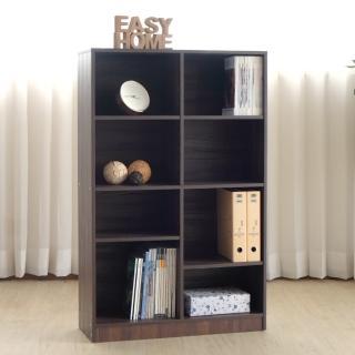 【EASY HOME】加厚八格開放式收納櫃(雙色可選)  EASY HOME