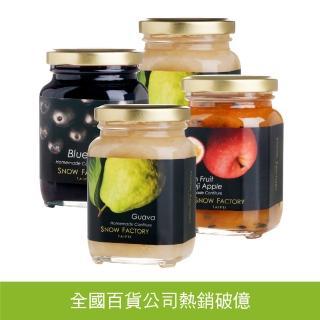 【雪坊優格】頂級手工 法式果醬 330元*4罐 經典嚐鮮組  雪坊優格