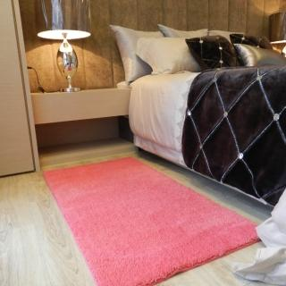 【山德力】凡地剛地毯 -桃 140x200cm(地墊 多色 溫暖 素色 羊毛)  山德力