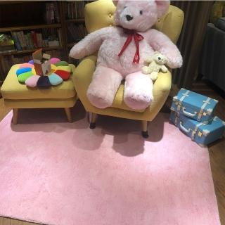 【山德力】凡地剛地毯 - 粉 160x230cm(地墊 多色 溫暖 冬天 綿羊)評價推薦  山德力