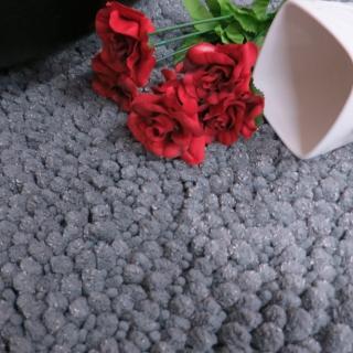 【山德力】吸水防滑長毛地毯-銀狐80x200cm(地毯 加寬 長毛 毛毯 溫暖)好評推薦  山德力