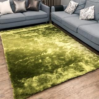 【山德力】薇尼絲漸層系列地毯 - 漸變綠 160x230cm(地毯 多色 溫暖 漸層 質感) 推薦  山德力