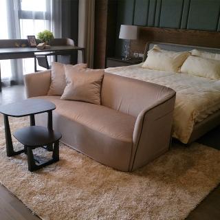 【山德力】匹茲堡地毯 - 星雲白 160x230cm(地毯 白 灰 閃耀 客廳 溫暖)  山德力
