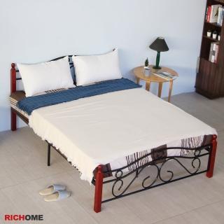 【RICHOME】經典5尺雙人床(經典設計)折扣推薦  RICHOME