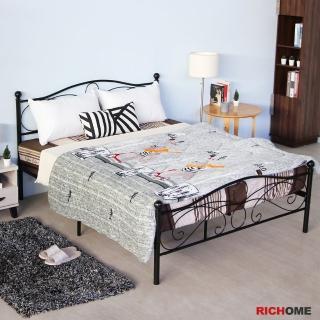 【RICHOME】法蘭5尺雙人床(經典設計)  RICHOME