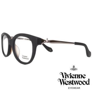 【Vivienne Westwood】英倫龐克立體土星光學眼鏡(黑 VW295V_01)  Vivienne Westwood