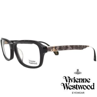 【Vivienne Westwood】英倫優雅蕾絲款光學眼鏡(黑 VW313V_01)  Vivienne Westwood