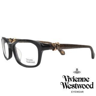 【Vivienne Westwood】環繞土星特別款光學眼鏡(黑/咖啡 VW324V_01)  Vivienne Westwood