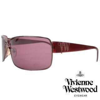 【Vivienne Westwood】英倫龐克搖滾款太陽眼鏡(暗粉 VW501_03)  Vivienne Westwood